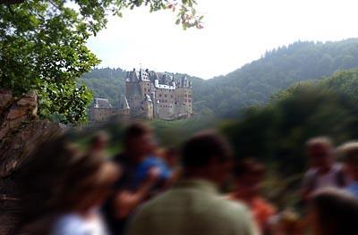 Überraschung Burg Eltz