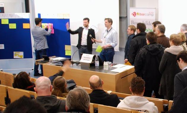 BarCamp Bonn 2018 - Foto von Gunnar Sohn- Ausschnitt